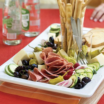 Lemon Basil Antipasto